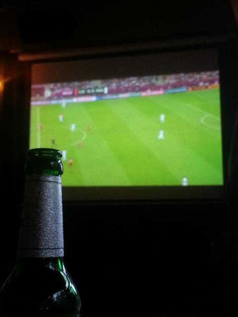Fußball im Grand Hotel